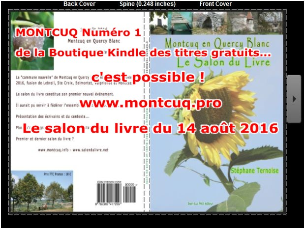 montcuq A LA UNE AMAZON